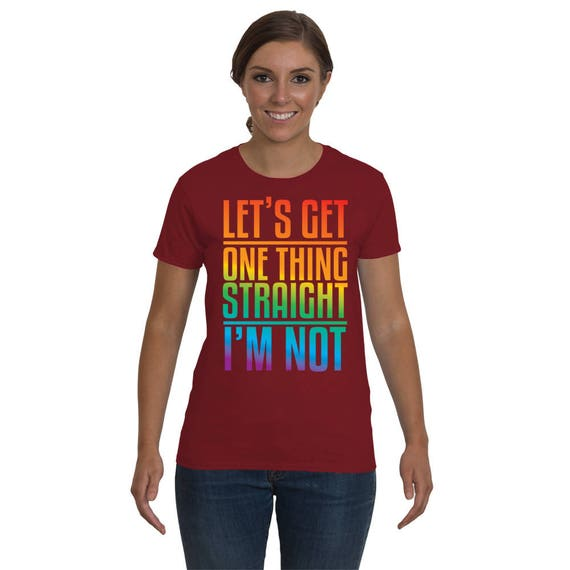 e3e4eed9b3 Gay Pride Shirt LGBT Shirts Lesbian Shirt Lesbian Couple | Etsy