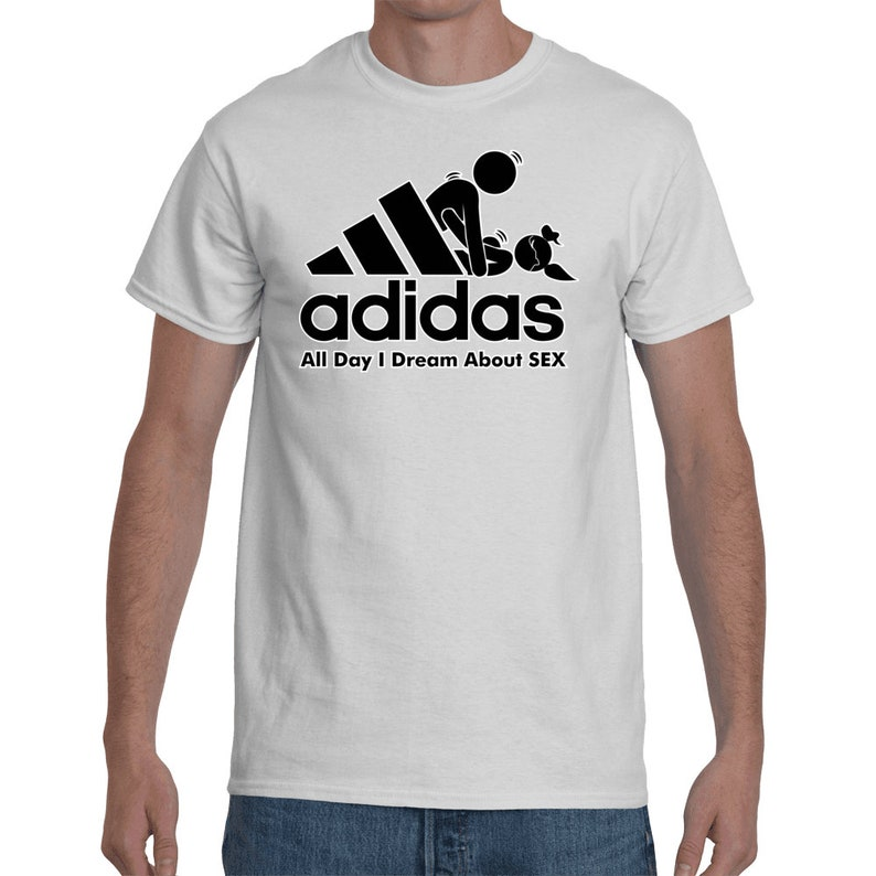 f516ff0da2 Funny Parody Logo All Day I Dream About Sex Men's T-Shirt. | Etsy