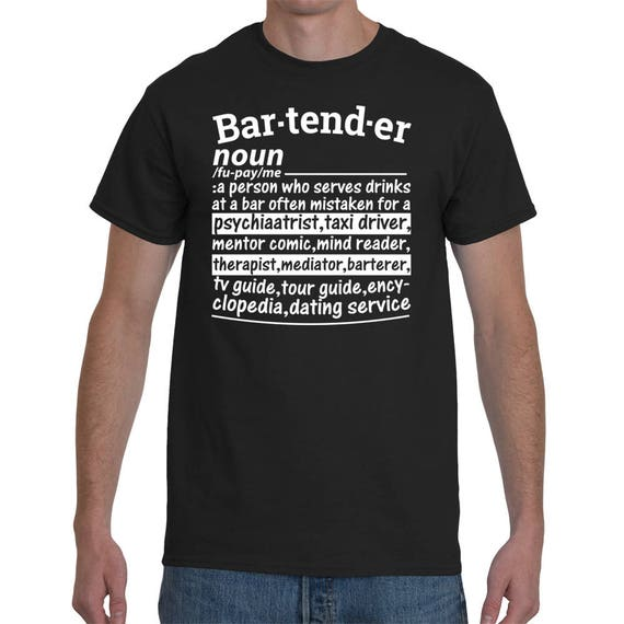 Bartender dating service