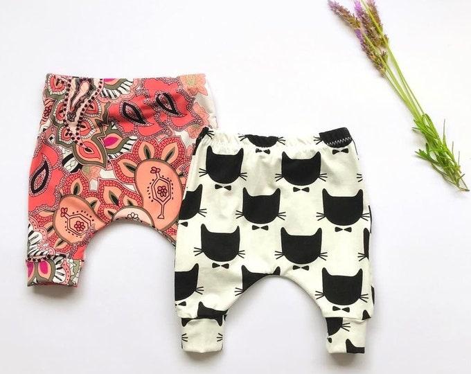 Baby pants sewing pattern