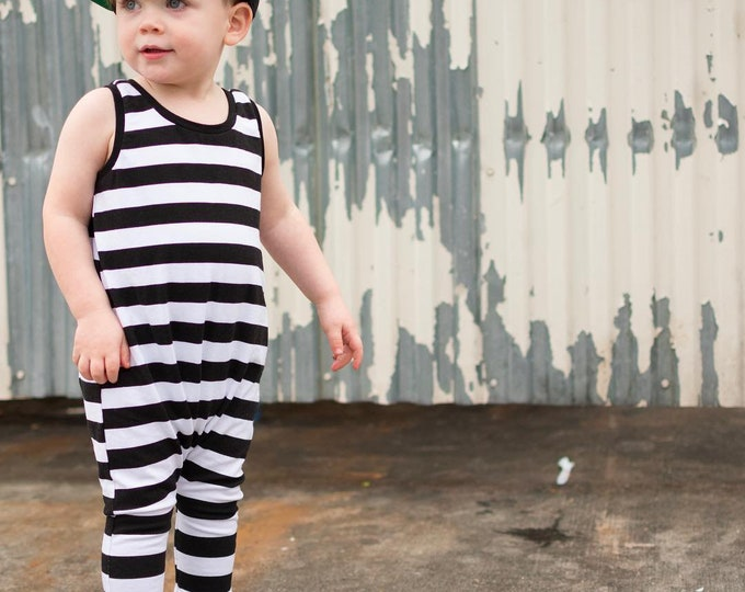Pull on - off romper sewing pattern