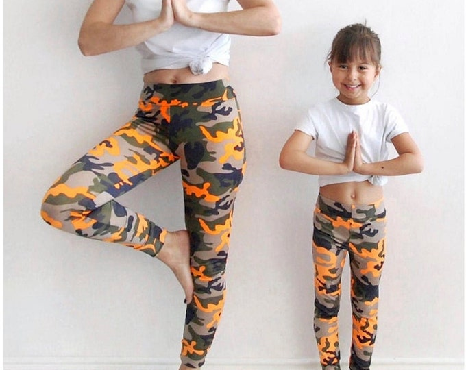 Mommy and me leggings sewing pattern