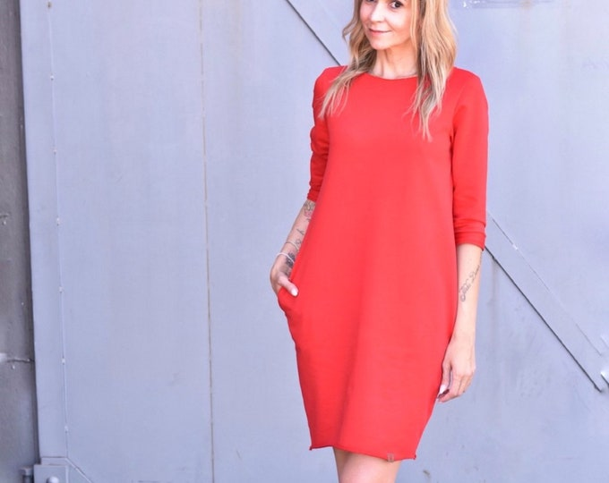 Women sweater dress sewing pattern