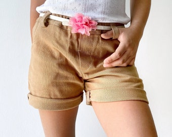 Lenda girls shorts sewing pattern