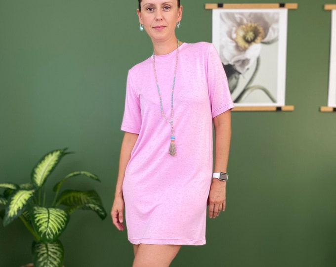 Tee dress sewing pattern