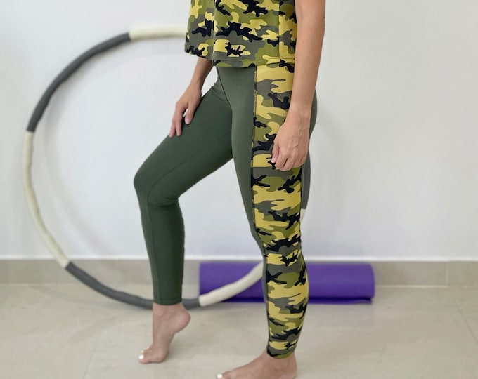 Featured listing image: Fitness leggings sewing pattern