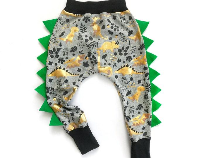 Dinosaur harems sewing pattern