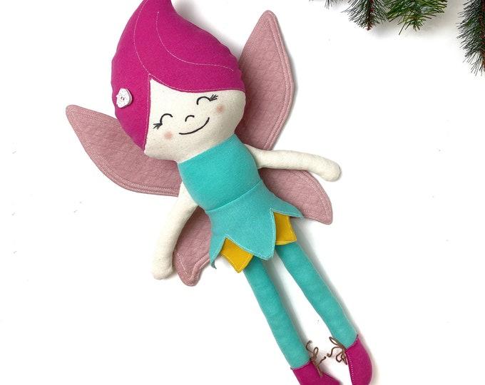 FREE! Little Amelie Elf sewing pattern