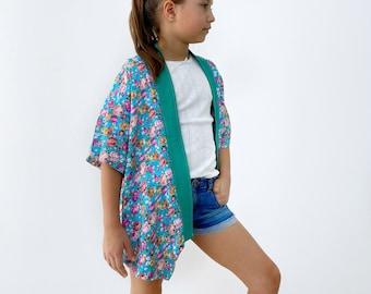 Beach cardigan sewing pattern