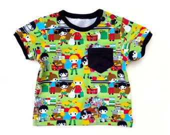 Baby - Toddler shirt pattern