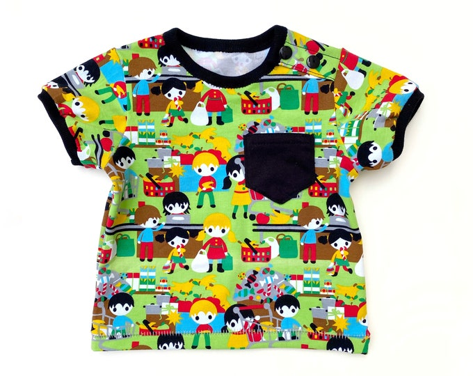 Baby basic tee sewing pattern