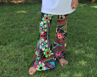 Bell bottom pants sewing pattern