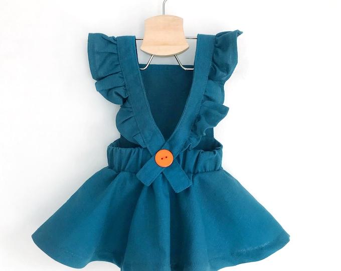 Baby - teen pinafore dress sewing pattern
