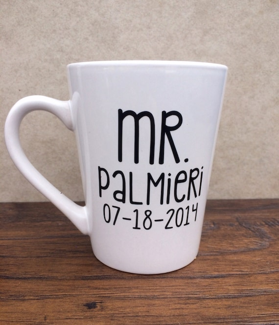 Mr Mug Gift Ideas For Him Husband Gifts Wedding Gifts Etsy