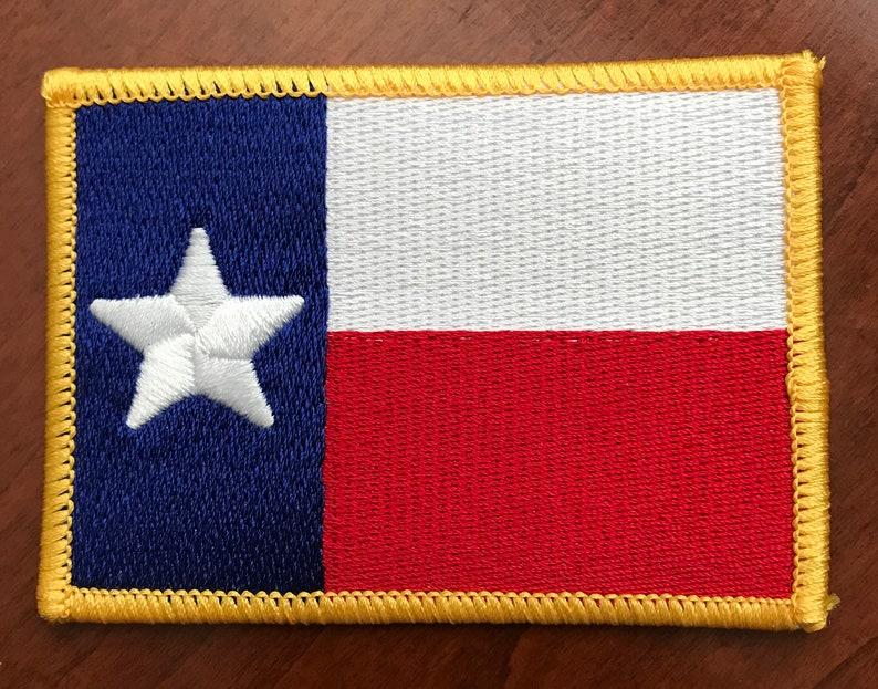 Texas drapeau brodé Patch