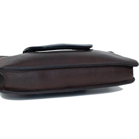 COACH VINTAGE Brown Leather Bonnie Cashin Bag - image 7