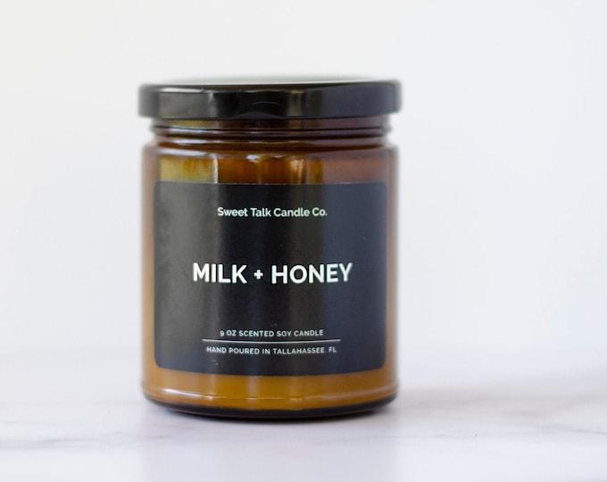 Milk + Honey Soy Candle