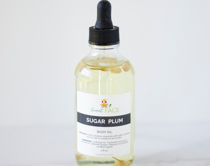 Hydrating Sugar Plum Body Oil