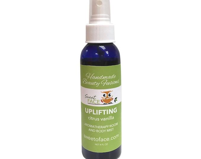 Citrus Vanilla Aromatherapy Toner & Body Mist 4oz.