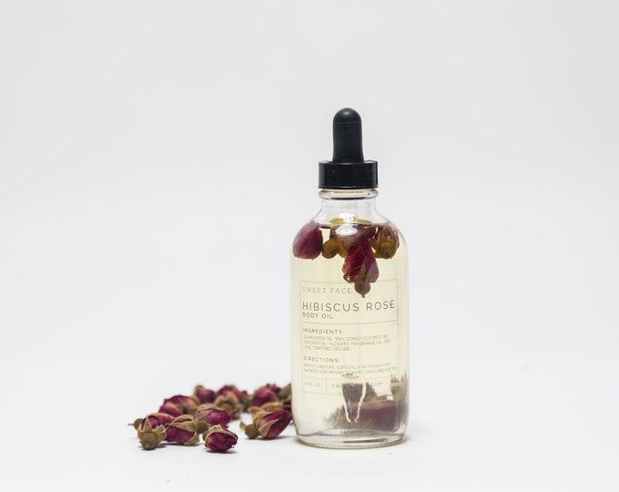 Hibiscus Rose Nourishing Body Oil