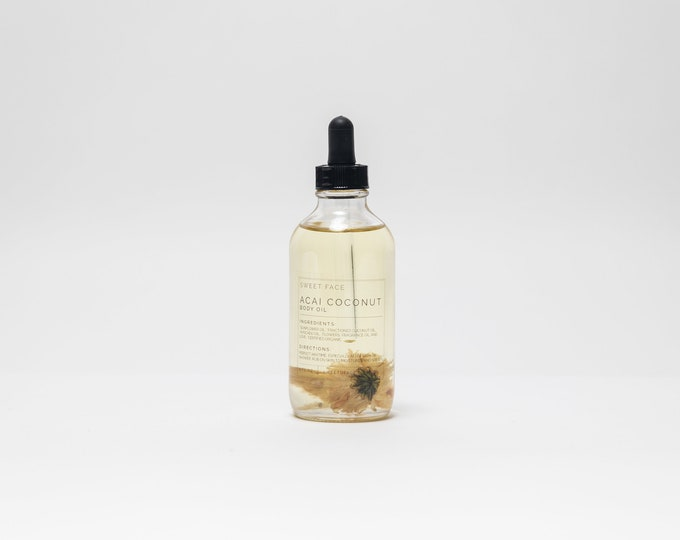 Coconut Açai Nourishing Body Oil