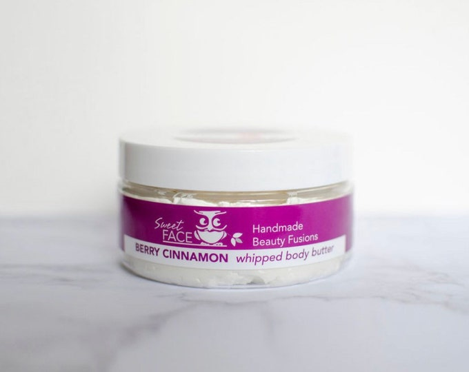 Whipped Berry Cinnamon  Firming Body Butter w/ Green Coffee Bean
