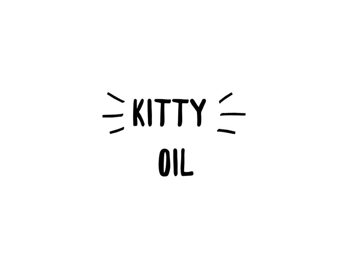 Kitty Oil I Yoni Oil I Feminine Care