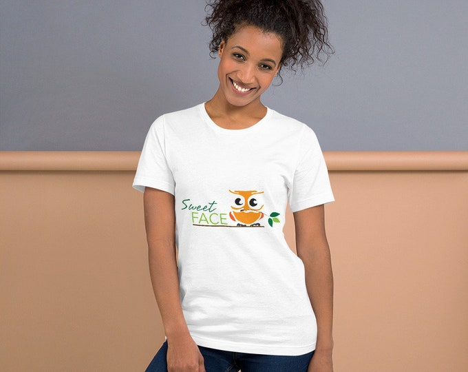 Sweet Face Short-Sleeve Unisex T-Shirt