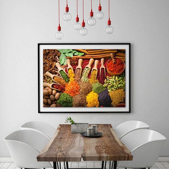 Food fotografie keuken kunst aan de muur voedsel afdrukken for Kunst keuken