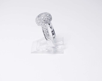 BRAND NEW 18K White Gold 1.25 carat Diamond Ring