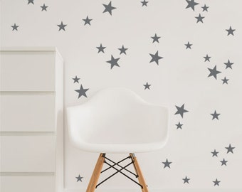 Star wall decal, Star Decals, Nursery decal  - Home Decor - 3 size