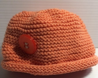 BABY HAT with flat top 32c6e61c8b2