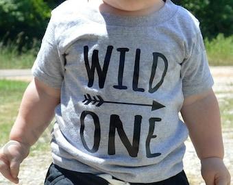 Wild ONE Shirt or Bodysuit, Wild One First Birthday Shirt, Boy First Birthday, Girl First Birthday, Wild One Birthday
