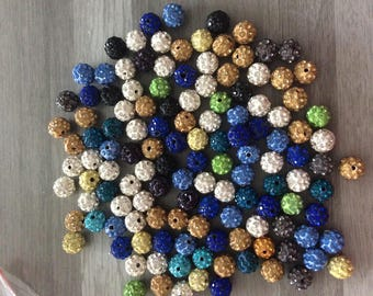 shamballa disco 10 mm 10 beads