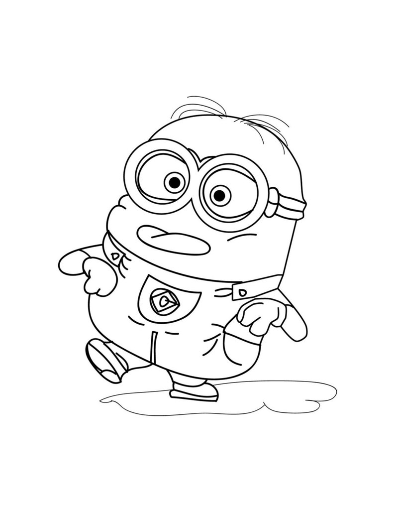 minions coloring pages printable coloring pages