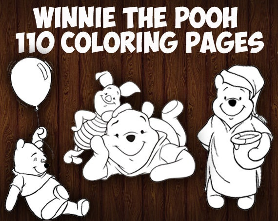The Pooh Bee Colouring Pages (page 2) - Coloring Home | 453x570