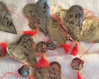 Valentines Good Luck streamer/bunting