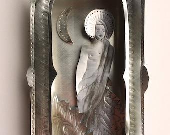 Hilda, Saint of the Daytime Moon Altar Box