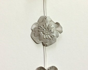 Flower and heart hanging