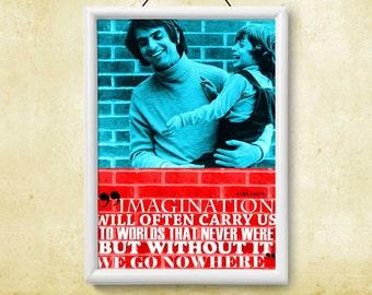 Printable Instant Download Poster Carl Sagan Quote Art Print Wall Popular