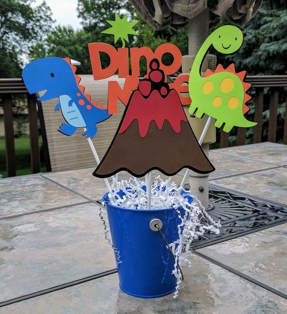 Dinosaur Centerpiece Dinosaur Birthday Dinosaur Table Decoration Dinosaur Baby Shower Dinosaur Birthday Party