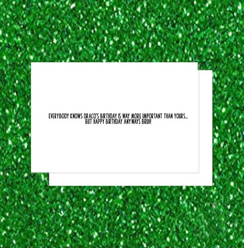 Draco Soulja Boy Birthday Card (Hip Hop Card, Pop Culture, Birthday Card,  VH1 )