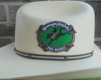 48806d1921b Rare Copenhagen Skoal pro-rodeo adhesive hat sticker