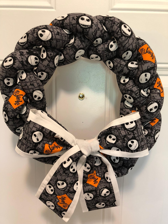 Nightmare Before Christmas Wreath New Halloween Wreath | Etsy