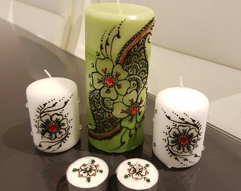 Holiday Themed Candle