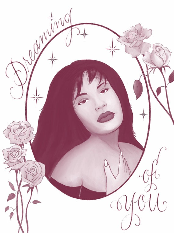 Selena - Dreaming of You Print