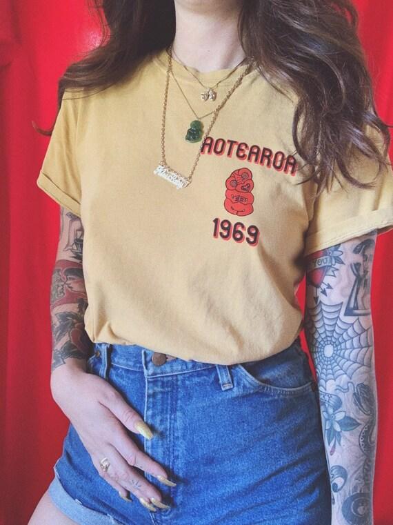 Aotearoa 1969 Light Gold Shirt