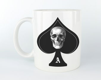 The Ace of Spades - 11 oz Coffee Mug / Tea Cup