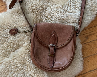 461ae0359f Vintage leather Roots purse