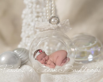 Digital Backdrop - prop for newborn photography - Christmas